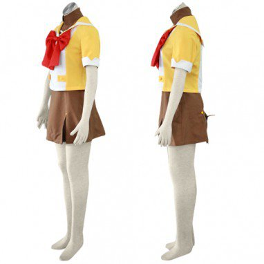 Suitable Macross Frontier Mihoshi Academy Uniform Halloween Cosplay Costume