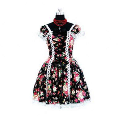 Tailor-made Motley Gothic Lolita Halloween Cosplay Costume