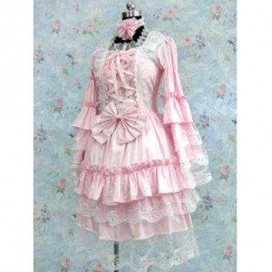 Tailor-made Pink Gothic Lolita Halloween Cosplay Costume