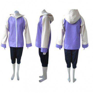 Ideal Naruto Shippuden Hinata Hyuga Women\'s Halloween Cosplay Costume