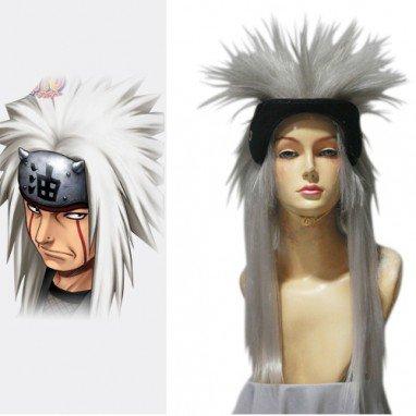 Naruto Jiraiya 60cm Halloween Cosplay Wig