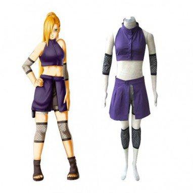 Naruto Shippuden Ino Yamanaka Women\'s Halloween Cosplay Costume