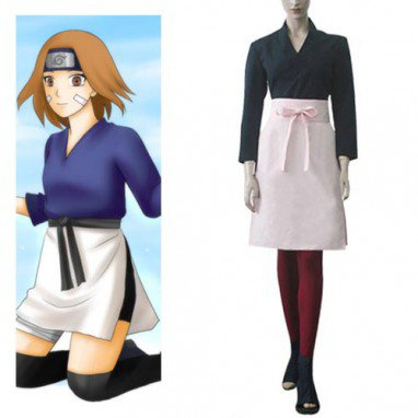 Naruto Shippuden Rin Halloween Cosplay Costume