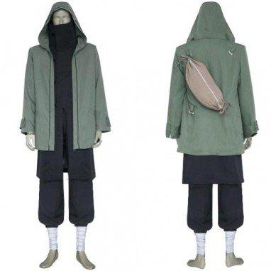 Naruto Shippuden Shino Aburame Halloween Cosplay Costume