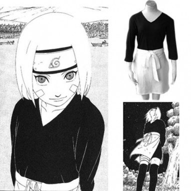 Naruto Shippuden Women\'s Halloween Cosplay Costume