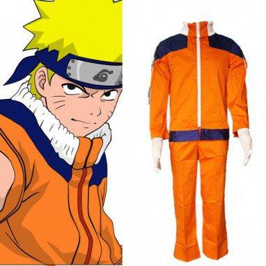 Naruto Uzumaki Men\'s Halloween Cosplay Costume