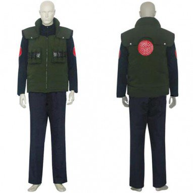 Naruto Yondaime 4th Hokage Halloween Cosplay Costume