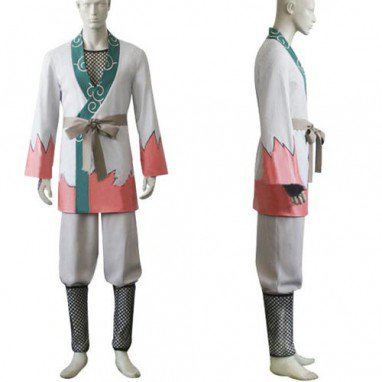Naruto Young Jiraiya Halloween Cosplay Costume
