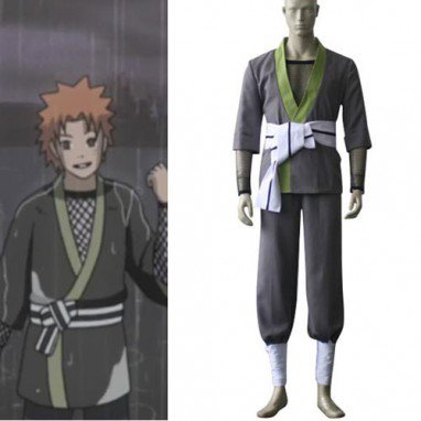 Naruto Young Yahiko Halloween Cosplay Costume