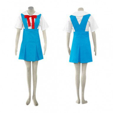 Cheap Neon Genesis Evangelion Asuka Halloween Cosplay Costume