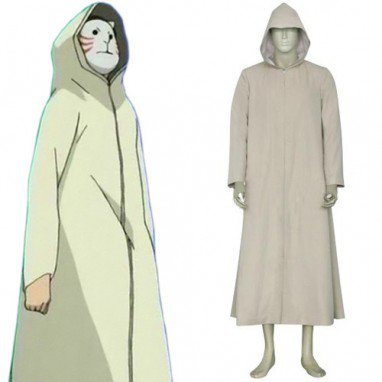 Naruto Anbu Cape Halloween Cosplay Costume
