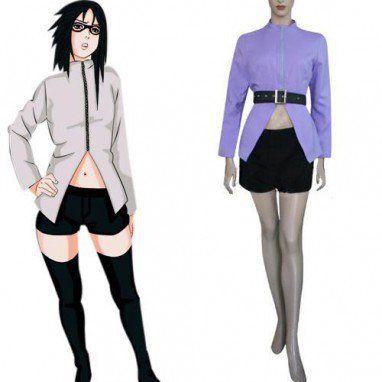 Naruto Karin Halloween Cosplay Costume