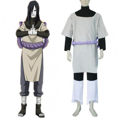 Naruto Orochimaru Men\'s Halloween Cosplay Costume