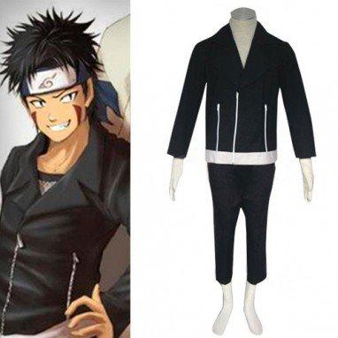 Naruto Shippuden Kiba Inuzuka Halloween Cosplay Costume
