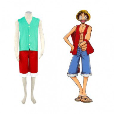 Perfect One Piece Luffy Halloween Cosplay Costume