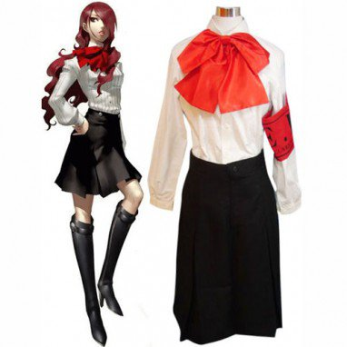 Shin Megami Tensei - Persona 3 Mitsuru Kirijo Halloween Cosplay