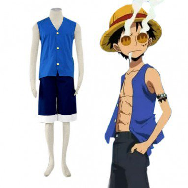 Unusual Superior One Piece Luffy Halloween Cosplay Costume