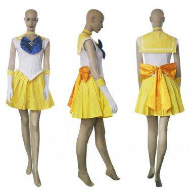 Sailor Moon Mina Aino Halloween Cosplay Costume