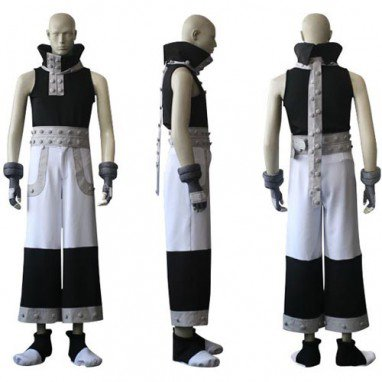 Soul Eater Black Star Halloween Cosplay Costume