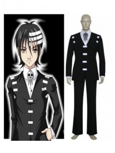 Soul Eater Death the Kid Csoplay Costume-Halloween