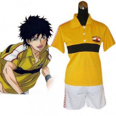Prince Of Tennis Rikkai Juniorl Summer Uniform Halloween Cosplay