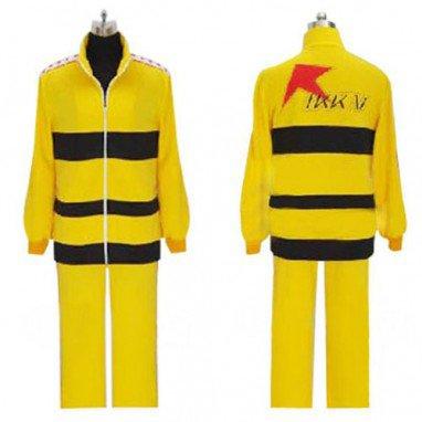 Prince of Tennis Rikkai Yellow Uniform Halloween Cosplay