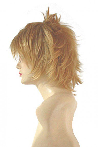 Tales of the Abyss Guy Cecil Blond Halloween Cosplay Wig