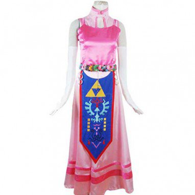The Legend of Zelda Princess Zelda Cosplay Costume-Halloween