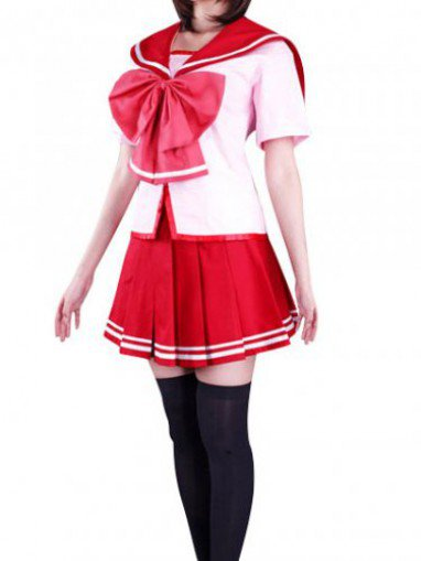 To Heart Short Sleeves Halloween Cosplay Costume