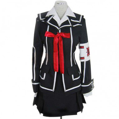 Vampire Knight Day Class girl Kurosu Yuuki Halloween Cosplay Costume