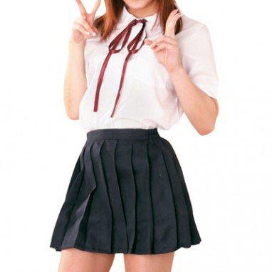 Suitable Short Sleeves School Uniform