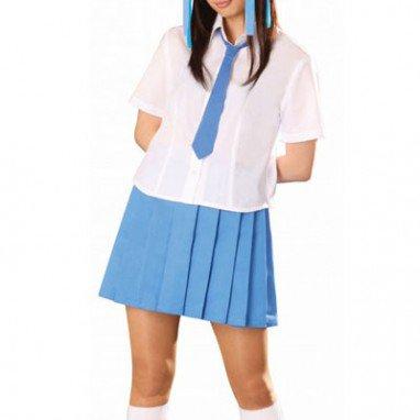 Superior Blue Short Sleeves School Uniform