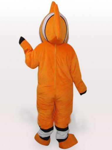 Fish Short Plush Adult Mascot Costume