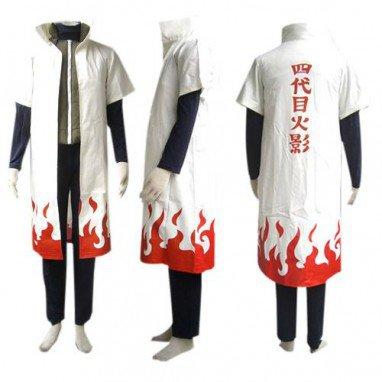 Naruto Yondaime 4th Hokage Halloween Cosplay Costume