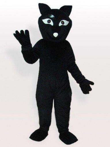 Black Fox Adult Mascot Costume