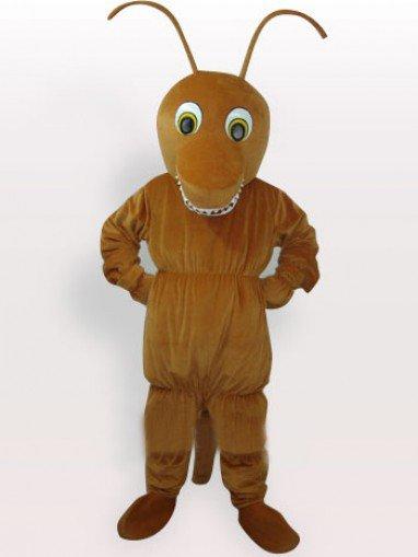 Brown Ant Short Plush Adult Mascot Costume