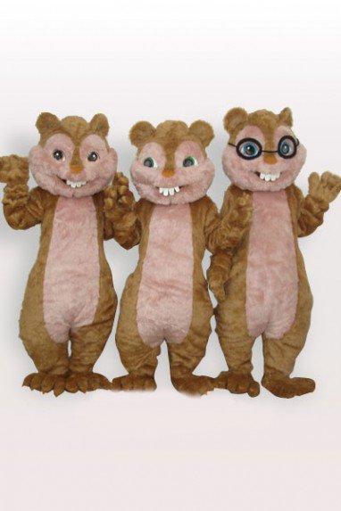 Cheap Squirrel Plush Adult Mascot Costume