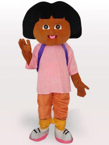 Dora Short Plush Adult Mascot Costume