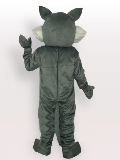 Gray Wolf Adult Mascot Costume