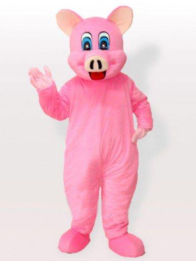 Pinky Piggy Adult Mascot Costume