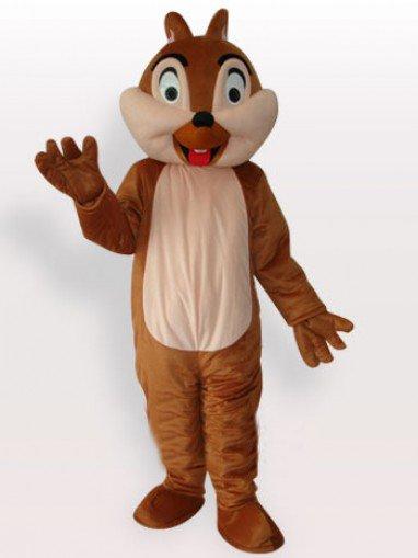 Squirrel Boy Short Plush Adult Mascot Costume