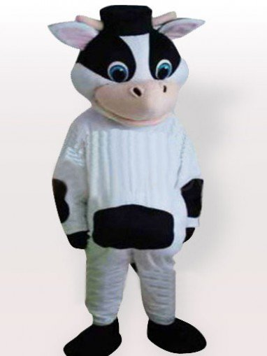 Weird Cow Adult Mascot Costume