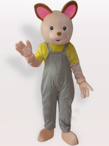 Baby Bear Short Plush Adult Mascot Costume