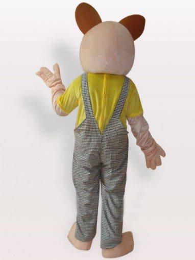 Baby Bear Short Plush Adult Mascot Costume