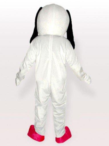 Black Belly Dog Adult Mascot Costume