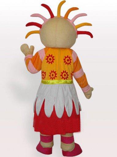 Bright Sunshine Girl Adult Mascot Costume