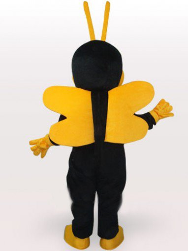 Little Bee Short Plush Adult Mascot Costume