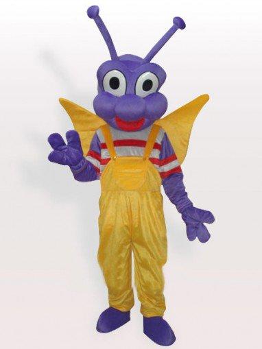 Purple Bo Dudu Adult Mascot Costume