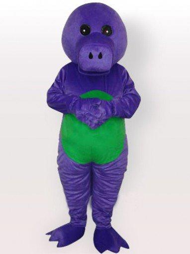 Purple Dragon Adult Mascot Costume