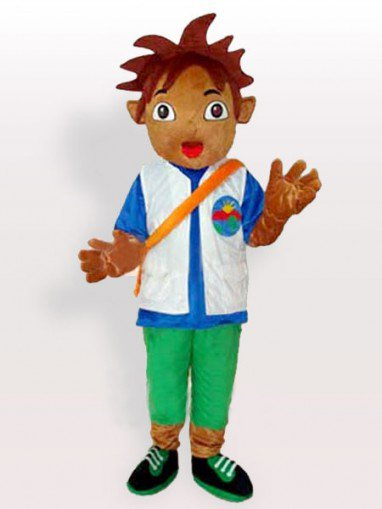 Diego Adult Mascot Costume